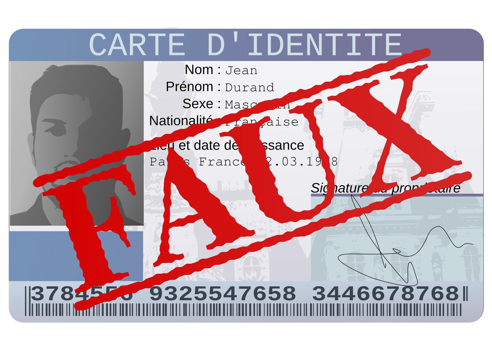 Fausse Carte d'identité