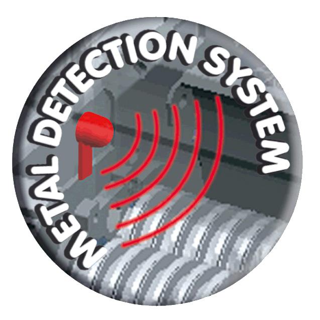 Pictogramme système de détection du métal