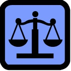 Pictogramme Balance de la justice