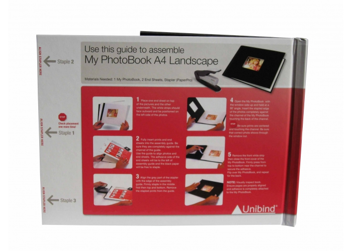 Kit agrafeuse / brocheuse + guide A4 paysage