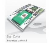 Pochettes de signalétiques A4 - MATES
