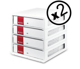 2 modules de rangement Unibind XT3