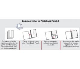 PhotoBook Punch Unibind 15X20 paysage