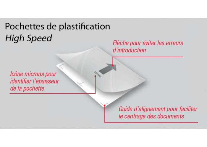 Pochette de plastification A4 GBC