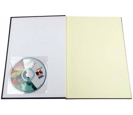 Pochette adhésive Unibind CD ROM