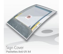 Pochettes de signalétiques A4 - ANTI UV