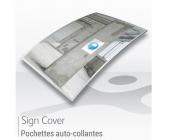 Pochettes de signalétiques A4 / A5 - AUTOCOLLANTES
