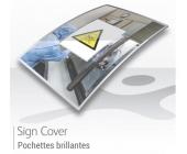 Pochettes de signalétiques A4 / A3 - BRILLANTES