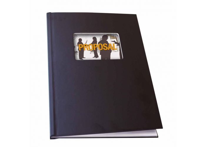 SteelBook Staple Unibind A4 portrait